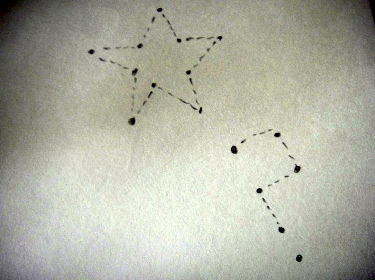Constellation doodle