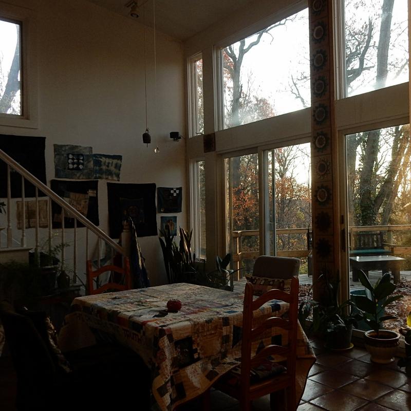 The mending room