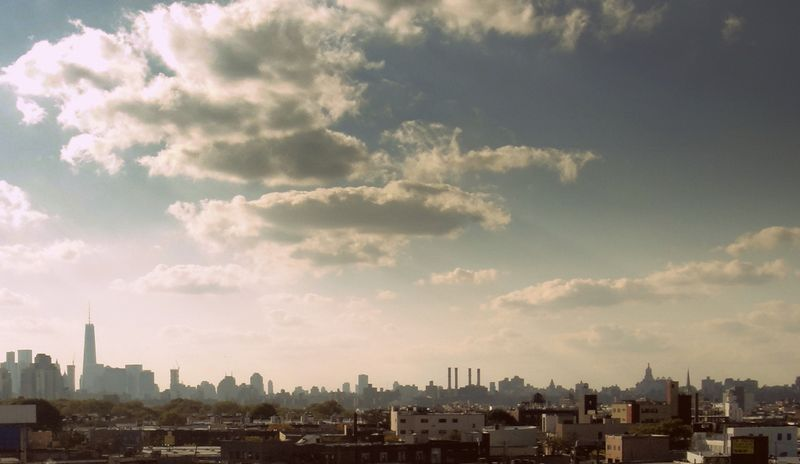 The view of manhattan from brooklyn