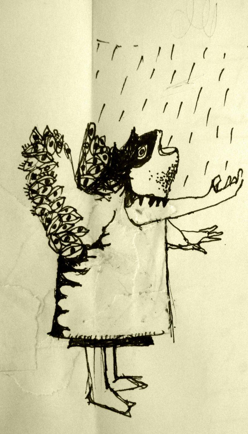 Eating rain