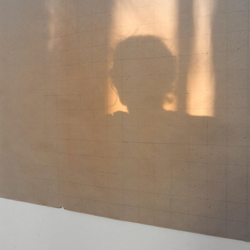 Selfie with grid
