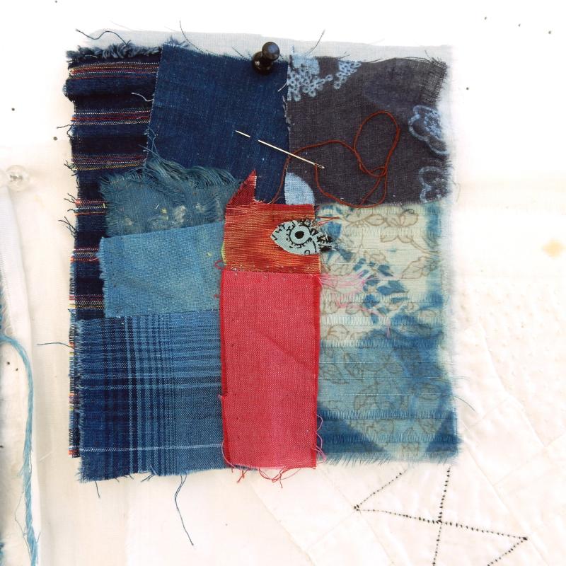 Cobble cloth CATchwork