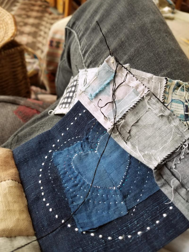 Just stitching