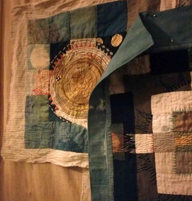 Partial eclipse of cloth