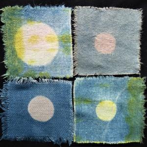 Natural dye quartet