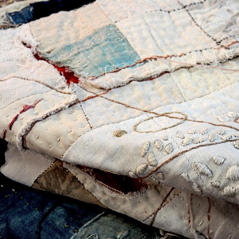 Big cloth resting