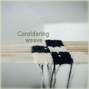 Considering-weave