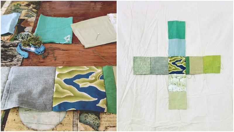 Greener patchwork