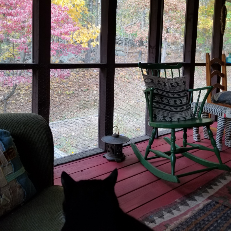 October porch