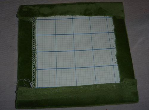 overcast method/block preparation