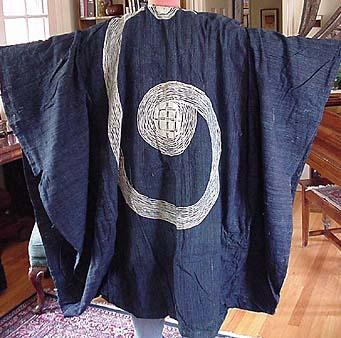 Embroidered Nigerian robe