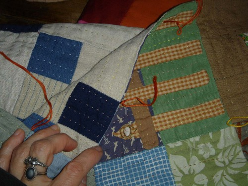 quilting back and front