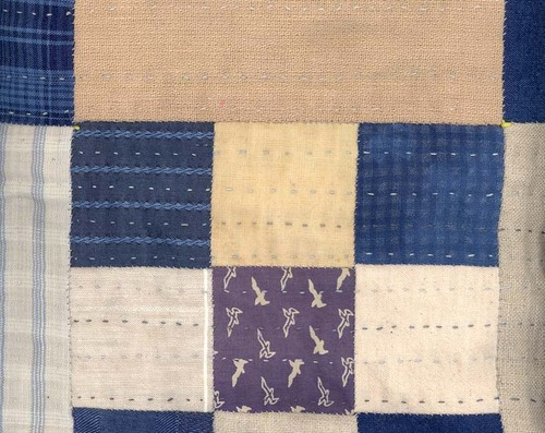Quilting the front
