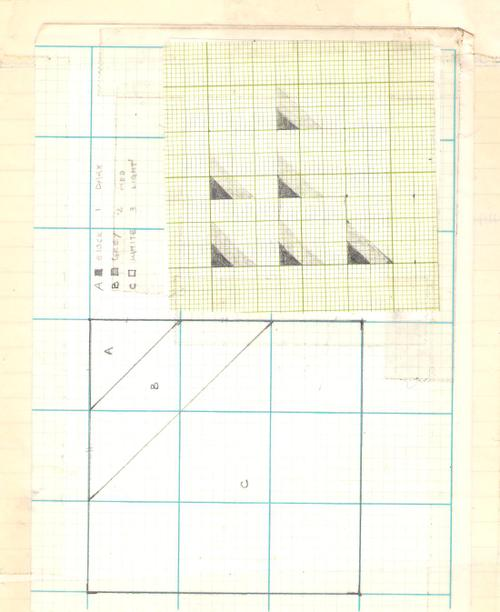 block/shaded triangle